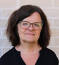 Porträttbild på Ulla Lundberg.