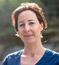 Porträtt på Pernilla Widholm Jolgård.