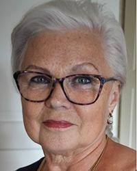 Porträtt på Ingamaj Wallertz-Olsson