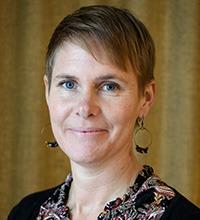 porträtt på Hanna Bäck