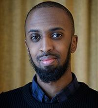 porträtt på Mohamed Sadik.