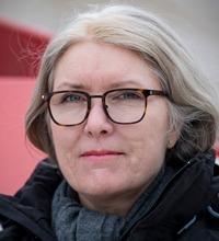 Porträttbild på Annika Aveling