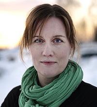 Porträtt på Ingela Lundström