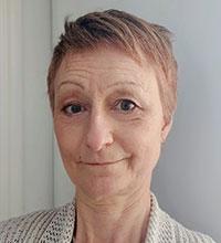 Porträtt på Lena Lundqvist.