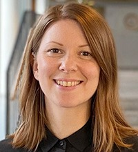 Porträttbild på Sofie Fredriksson.