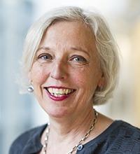 Porträtt på Yvonne Eriksson.