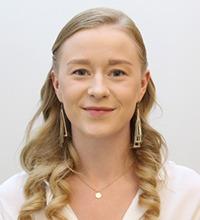 Porträtt på Agnes Löfgren.