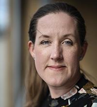 Porträtt på Jenny Häggström