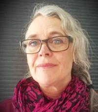 Porträtt på Karin Ernhagen.