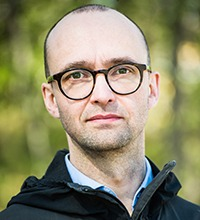 Porträtt på Jimmy Johansson kommunchef i Bjurholm.