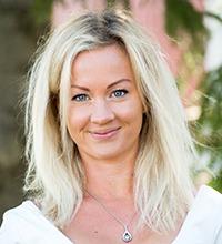 Porträtt på Malin Falk i Bjurholm.