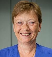 Eva Axelsson, spcialistsjuksköterska på ögonmottagningen på Uddevalla sjukhus.