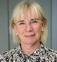 porträtt på Marina Flingmark, chef för ögonmottagningen på Uddevalla sjukhus.