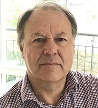 Porträtt på Roy Liff, forskare vid Göteborgs universitet.