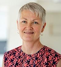 porträtt på Ann-Christin Eriksson, chef på Strandgårdens äldreboende i Ellös.