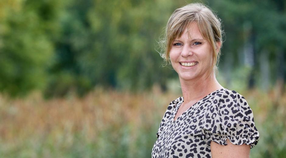 Linda Svahn på Allbohus i Alvesta. Nominerad till årets skyddsombud.